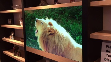 телевизор с прозрачен екран