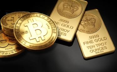 биткойн по-скъп от златото