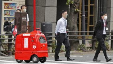 Очарователен робот, ще доставя пощата в Токио по време на пандемия