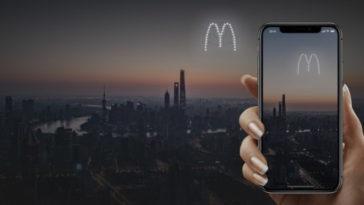 Руски стартъп пуска реклами на нощното небе