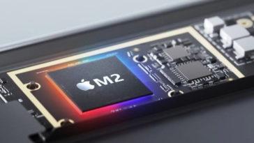 Процесорът Apple M2 вече се произвежда