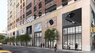 Първият физически магазин на Google