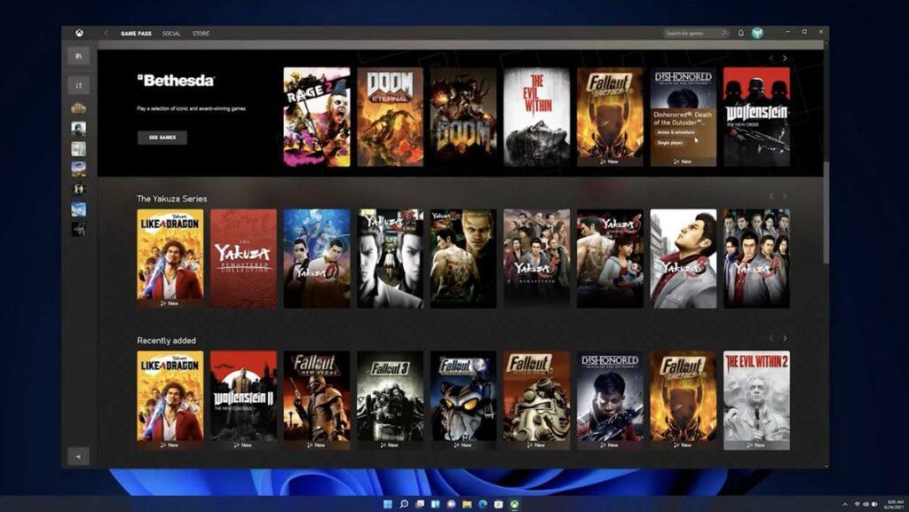 Xbox Game Pass също се интегрира в Windows 1