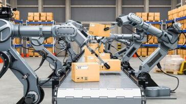 Сблъсък на роботи предизвика пожар