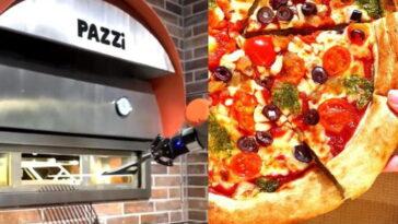 Напълно роботизирана пицария заработи в Париж